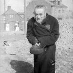 Polen, Zichenau, Jude vor Trümmern