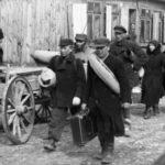 Polen, Zichenau, Räumung von Häusern