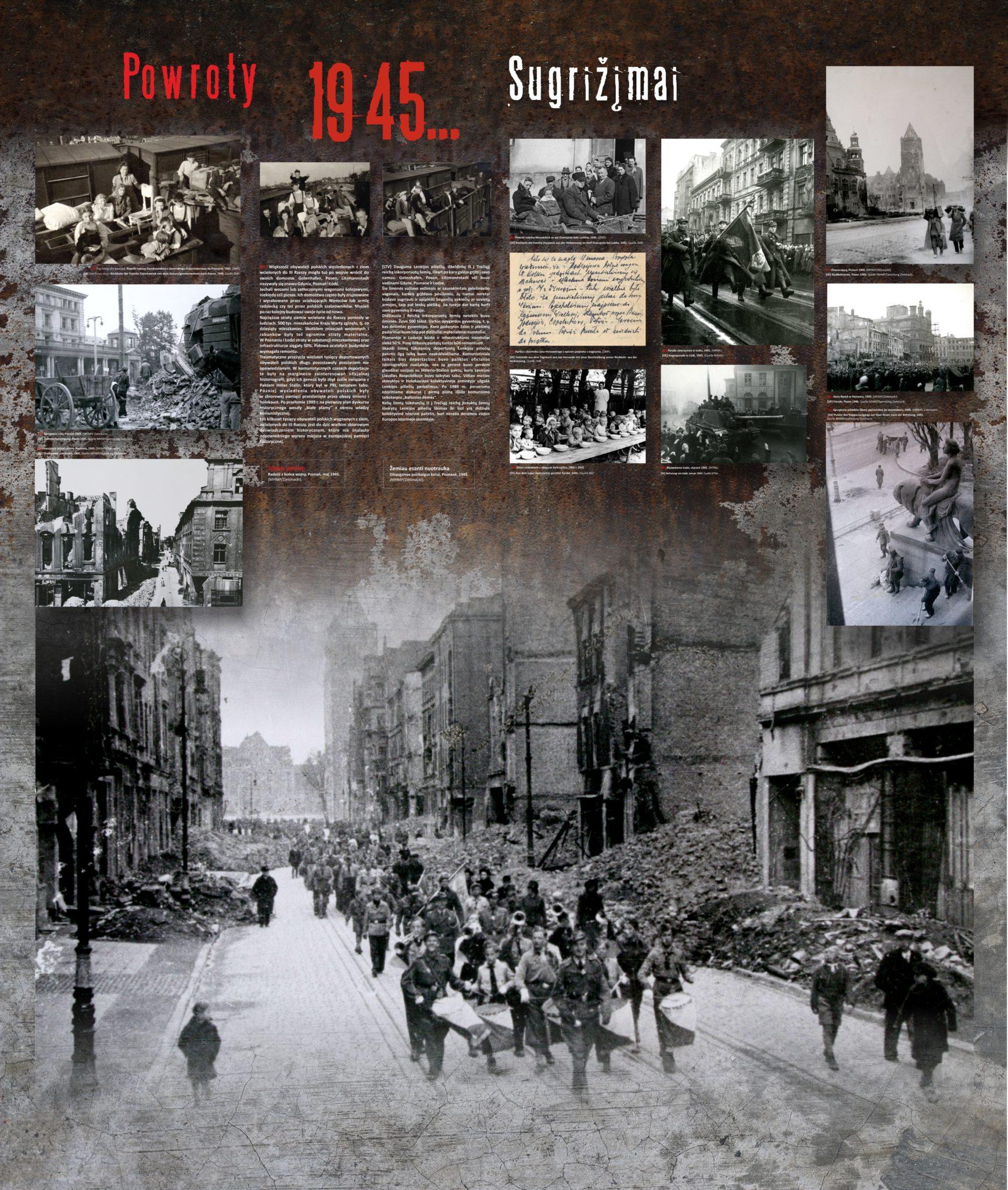 Powroty 1945...  / Sugrįžimai (1945)